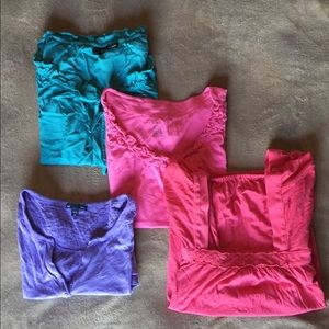 Bundle of size medium women's tees